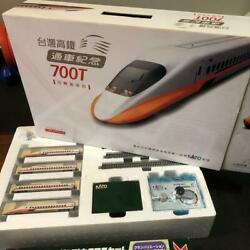 Kato N Scale Taiwan High Speed Rail 700t Model Train Not Sold In Stores