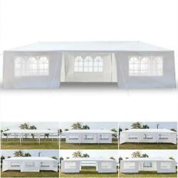 10and039x30and039 Party Tent Outdoor Gazebo Canopy Tent Wedding With 7 Removable Walls 7