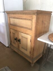 Antique Wood Refrigerator Hb Simpson And Company