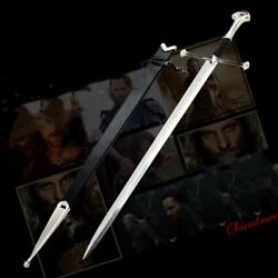 Stainless Steel Lord Of The Rings Anduril The Sword Of Aragon Holy Sword 0009