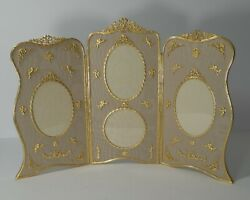 Grandest French Gilded Bronze Photograph / Picture Frame C.1900 - Cherubs