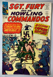 Sgt. Fury And His Howling Commandos 9 In 4.5 Very Good+