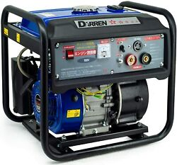 Darren Engine Welder Generator 160a 110v Stick Welder And Inverter Generator