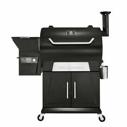 Z Grills Zpg-700d2 8 In 1 Wood Pellet Barbecue Grill Smoker With Weather Cover
