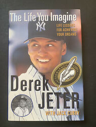 Derek Jeter Signed The Life You Imagine Autograph 1st Edition Book Mint Real