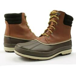 Sperry Mens Cold Bay Duck Boots Brown Tan 12 New