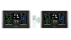 C85845 COMBO La Crosse Technology Weather Station w TX141TH BV3 amp; Extra Display