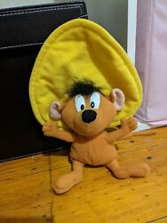 1999 Speedy Gonzales Plush Collectable Toy 21cm