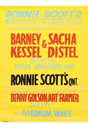 Barney Kessel Collection From Estate Of Posters Guitar Pick Strings Jazz