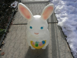 Vintage Empire Easter Bunny Blow Mold 22