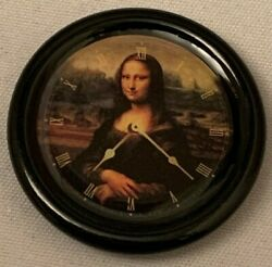 Dolls House Miniature 1/12th Scale Mona Lisa Picture Clock Sk027