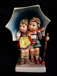 Hummel Goebel Stormy Weather Large 7 1/2 Inch Figurine - Excellent Condition