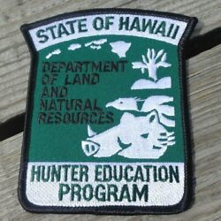 State Of Hawaii Hunter Education Program Land And Natural Resources Patch