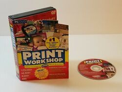 Print Workshop 2008 By Valuesoft Pc Dvd-rom Windows Greeting Card Software