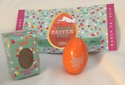 Obama White House Easter Ticket And Egg 2016 Signed Michelle And Barack President