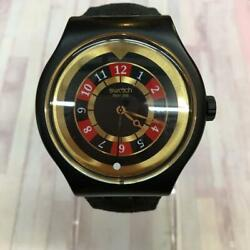 Swatch X007 Collaboration Analog Watches Men's Second Hand With Scratches