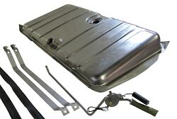 67 68 Camaro And Firebird Stainless Steel Gas Tank W/ 3/8 Sending Unit And Straps