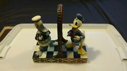 Jim Shore Disney Traditions Showcase Collection Handsome As Ever Donald Duck