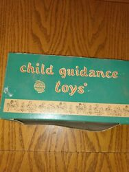 Vintage 1957 Child Guidance Toys No 290 Push Button Educator- New