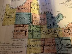 Pawnee County Oklahoma 50+ Named Oil Lease Agreements 1909-23 Abstract Info