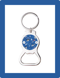 La Dodgers Mickey Mouse Custom Bottle Opener Keychain Key Ring Cool Unique Gift