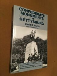 Confederate Monuments At Gettysburg By David G. Martin 1995 Trade Paperback