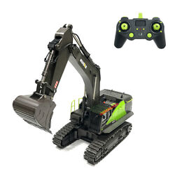 Huina 593 1593 Rc Excavator 1/14 Model 22ch Truck 2.4g Remote Control Kid Rc Toy