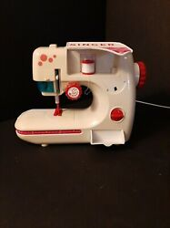 Childs Singer Child's Toy Sewing Machine Vintage With Sewing Box