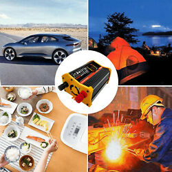 Dc 12v To Ac Power Inverter Power Converter Car Adapter For Camping Outdoor