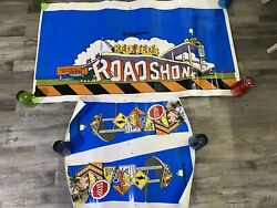 Red And Ted's Roadshow Pinball Machine 3pc Cabinet Artwork Decals Williams