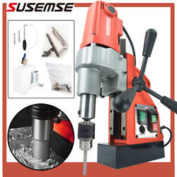 1200w Magnetic Drill Press 1-1/3 35mm Boring Diameter Magnet Force Tapping Us
