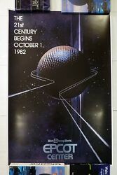 Disney Epcot Center 1982 Poster 00 Le100andnbspserigraph D23 Expo Spaceship Earth