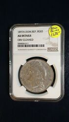 1897a Dominican Republic Peso Ngc Au Details 1p Coin Priced To Sell Right Now