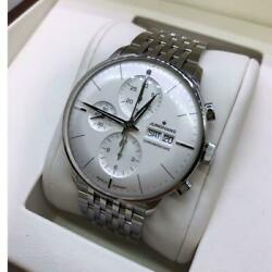 Junghans Junghans Meister Chronoscope Automatic Menand039s Watch Overhauled