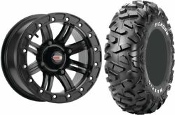 Mounted Wheel And Tire Kit Wheel 14x10 5+5 4/136 Tire 30x15-14 4 Ply