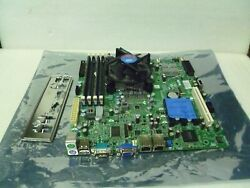 Supermicro X8sil-v Intel Pentium G6950 2.80ghz 4gb Ram Mother Board And Io Cover