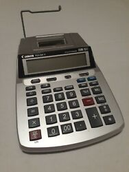 Canon P23-dhv Printing Calculator, Clock And Calender