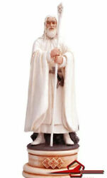 Gandalf The White White Bishop Lord Of The Rings Chess Set. Eaglemoss. Nr. 03