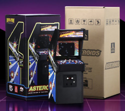 Asteroids Replicade New Wave Toys 16 Scale Mini Arcade New Sold Out