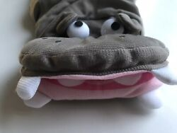 New High Quality Hippo Tutu Gray Pink Dog Costume Size Small