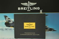 Breitling Pilot Diver Watch Instruction Manual Book Guide Booklet T/o Chrono Ed