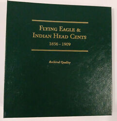 Flying Eagle And Indian Head Cents 1856 To 1909 Littleton Coin Album  Mg