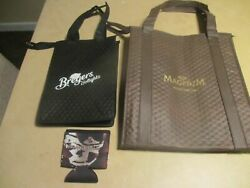 2 New Breyers amp; Magnum Cold Storage Insulated Shopping Tote Bags Magnum Cozy