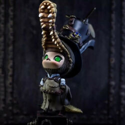 Pop Mart X Molly Steampunk Molly Crocodile Mini Figure Limited Collectable Toy