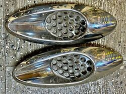 Correct Craft Air Nautique 226 Team Front Vents Stainless.
