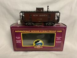 Pro Weathered Mth Premier New Haven N6b Caboose 20-91220 For Steam Diesel Engine