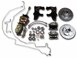 1955-1957 Chevrolet Deluxe Chassis Package Included Ford 9 Inch Axle Housing