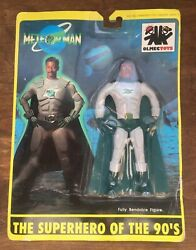 Meteor Man Bendandrsquoem Sealed On Card 1993 Black Super Hero Action Figure Olmec Toys