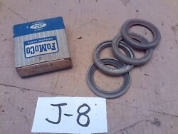 Nos New Old Stock Ford Lincoln Mercury Bearing Seals 4 Ad-1190-b Torino Fairlane