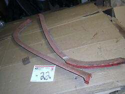 1958 58 Ford Skyliner Retractable Hardtop Front Windshield Lower Molding Trim